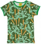 "DUNS Organic Cotton ""Carrots"" Short Sleeve Top (6-7 Years)"