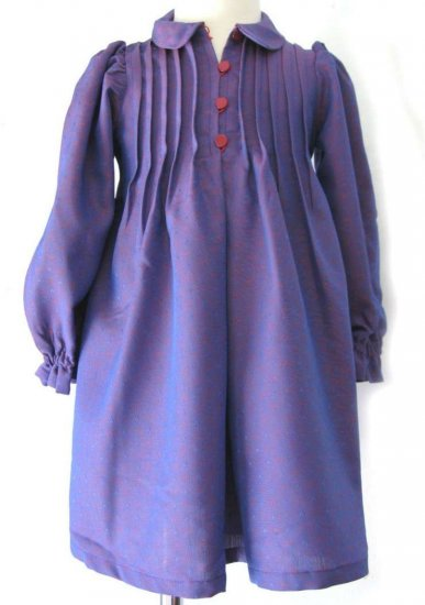 KSS Purple Longsleeve Dress 2-4 Years
