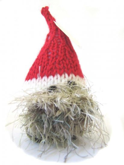 "KSS A Knitted Tomte Size Small 5"" Tall"