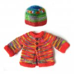 KSS Colorful Crayon Sweater/Cardigan 3 Months KSS-SW-675-ET
