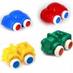 "Viking Toys 4"" Chubbies 4 Piece Cars VIKING-1149-4PC-CARS"