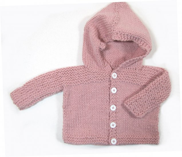 KSS Pink Hooded Sweater/Jacket (9 Months)