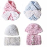 KSS Hat/Scarf/Booties Sets and Scarves