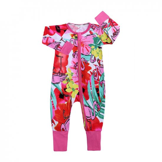 Kids Tales Pelcans Unisex Cotton Zippered Onesie 90cm/13-18 Months