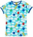 "DUNS Organic Cotton ""A Cloudy Day"" Short Sleeve Top (6-7 Years) DUNS-ACLDSST122"