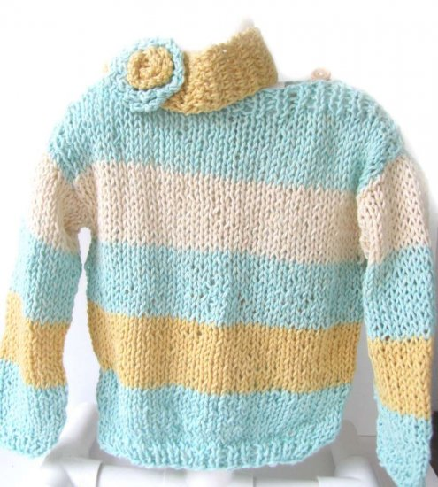 KSS Pastel Colored Cotton Sweater (3-4 Years)