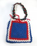 KSS Handmade Kids Sling Bag in Red, White and Blue Colors KSS-TO-073
