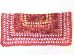 "KSS Red/Pink Colored Baby Blanket 24""x24"" Newborn and up KSS-BB-123-EBK"