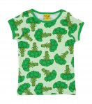 "DUNS Organic Cotton ""Broccoli"" Short Sleeve Top (4-6 Months)"