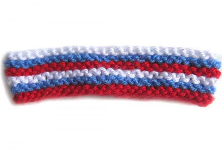 KSS Red, White and Blue Headband 12""