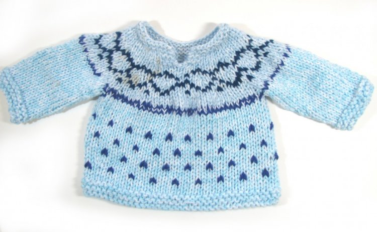 KSS Fair Isle Toddler Pullover Sweater (18 Months)