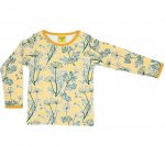 "DUNS Organic Cotton ""Golden Haze Yellow"" Long Sleeve Top (2-3 Years) DUNS-DGHYLST98"