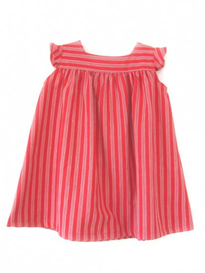 KSS Red Carl Larsson Cotton Dress and Hat in sizes 2 Years