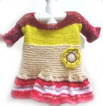 KSS Free Form Knitted Dress 18 Months DR-116 KSS-DR-116