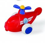 "Viking Toys 4"" Chubbies Red Rescue Helicopter VIKING-1147-HRR"