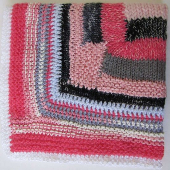 KSS Baby Blanket of Many Colors Newborn and up
