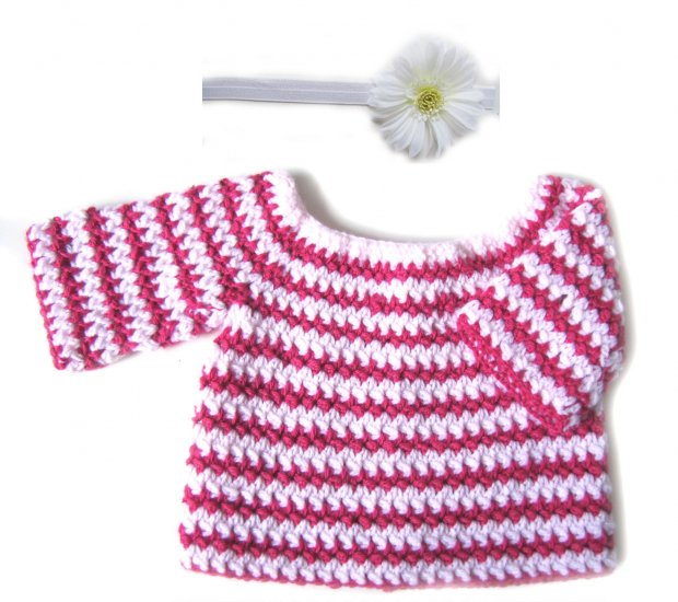 KSS Pink Striped Sweater 2T