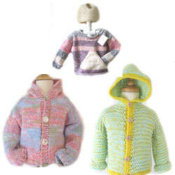 KSS Kids Sweaters Hooded & Sets Size 2 - 6 Years