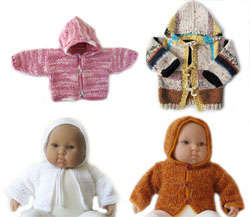 KSS Baby Hooded Sweater Jackets Size 0 - 24 Months