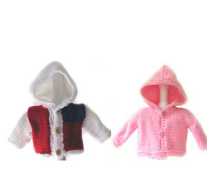KSS Baby Unisex Hooded Sweater Size 0 - 24 Months