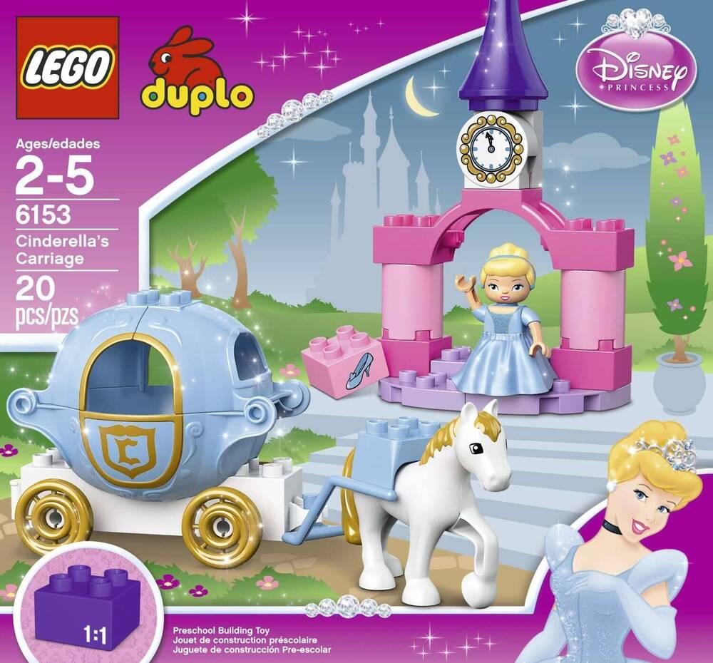 LEGO DUPLO Disney Princess Cinderella's Carriage 6153 ...