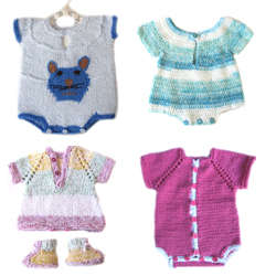 KSS Handmade Baby Onesies and Two Piece Sets