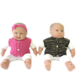 KSS Baby Short & Sleeveless Sweater Vests