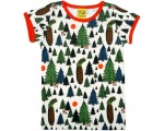 "DUNS Organic Cotton ""Pine Forrest"" Short Sleeve Top (12-18 Months)"