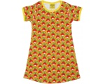 "DUNS Organic Cotton ""Radish""Short Sleeve Dress (12-18 Months)"