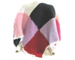 KSS Large Colorful Squares Baby Blanket Newborn and up KSS-BB-111-EBK