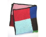 KSS Large Colorful Squares Baby Blanket Newborn and up KSS-BB-116-EBK