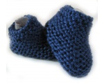 KSS Navy Knitted Socks (3-6 Months)