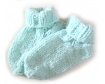 KSS Mint Green Knitted Socks (6-12 Months)
