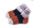 KSS Copper/Navy Knitted Sock 2T