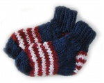 KSS Navy Knitted Sock 2T