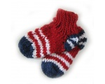 KSS Red Knitted Socks (6-12 Months)