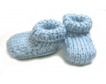 KSS Light blue Booties (1-2 Months)