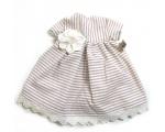 "KSS Striped Cotton Dress for 18"" Doll KSS-DR-063-DOLL"