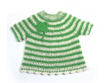 KSS Four Leaf Clover Crocheted Cotton Dress 12 Months KSS-DR-157-ET