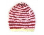 "KSS Pink, Red & Yellow Striped Colored Cap 12"" (1-2 years)"