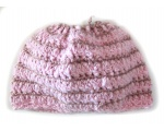 "KSS Mauve/Pink Cotton Ponytail Hat 15"" (1 Years & up) KSS-HA-429"