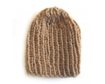 "KSS Brown Ribbed Ribbed Hat 11 - 13"" (0 - 3 Months) KSS-HA-440"