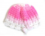 "KSS Pink Crocheted Cotton Adjustable Sunhat 15-17"" (6-24 Months) KSS-HA-471"