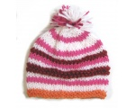 "KSS Knitted Hat with Yarn Pom Pom 12 - 13"" (0 -12 Months)"