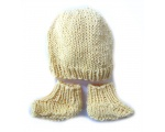 KSS Yellow Knitted Booties and Hat set (3-6 Months) KSS-HA-501