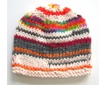 "KSS Coloful Striped Beanie 13"" (0-3 Months) KSS-HA-524"