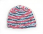 "KSS Red, White & Blue Striped Beanie 13"" (0-3 Months) KSS-HA-567"