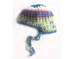 "KSS Blue/Green Crocheted Classic Cap 15"" (6-9 Months) KSS-HA-584"