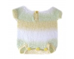 KSS Pastel Colored Striped Onesie 6 Months KSS-ON-014-INS