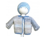 KSS Sky Grey/Blue Sweater/Jacket (6-9 Months)